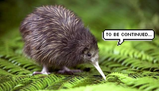 kiwi to be continued